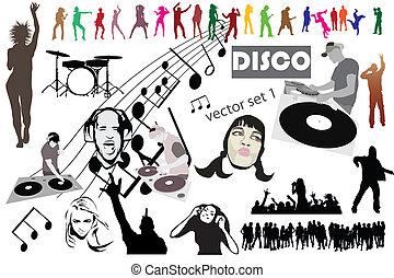 Disco vector mega set mix