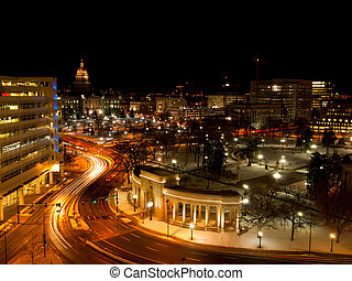Civic Center in Denver, Colorado.