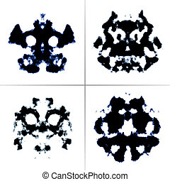 Rorschach test - An image of the Rorschach test ink blots