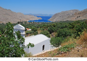 Small chapel, Symi island