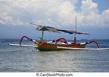 Indonesian Fishing boat - Indonesian (Bali) Fishing boat...