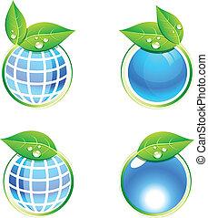 Eco icons.