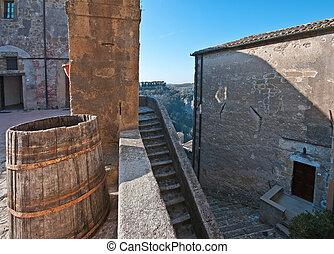 Sorano - Citta del tufo - particularly the Orsini fortress