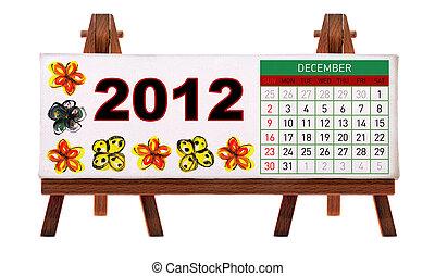2012 desk calendar
