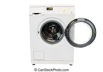 washer - The image of washer under the white background