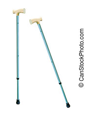 walking stick - The image of walking stick under the white...