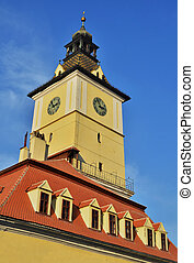 Brasov, Council Square tower, the medieval mayor house of...