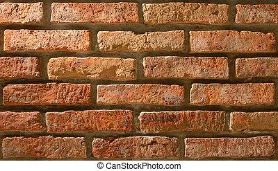 Brick texture pattern background - Vintage brick texture...