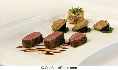 Lamb entree - New Zealand lamb entree