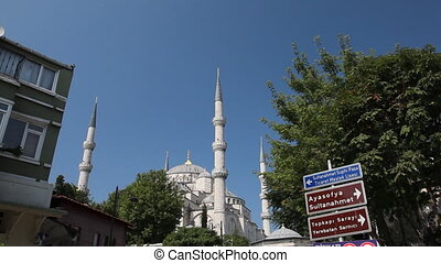 Blue mosque - Sultan Ahmet Camii or Blue mosque was built in...