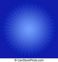 Sunburst - A square blue vector sun burst file