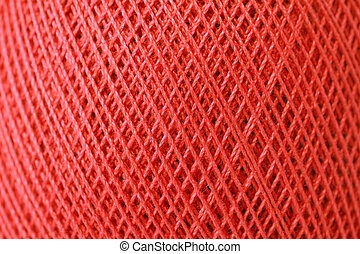 red thread - close up of red thread