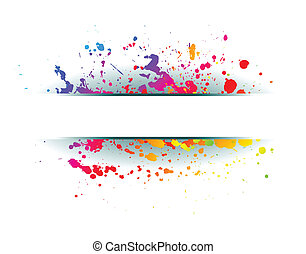 Colorful grunge background.