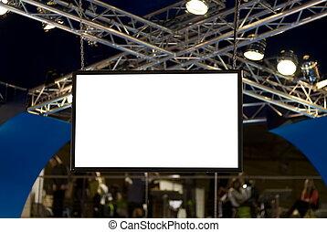 Big blank screen