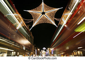 Christmas Lights in London - Christmas Lights Display on...