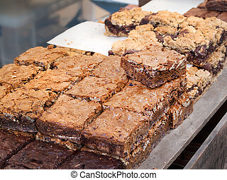 Chocolate Nut brownies - Different Chocolate Nut brownies at...