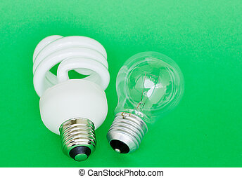 light bulb lamps - Energy efficient CFL fluorescent and...