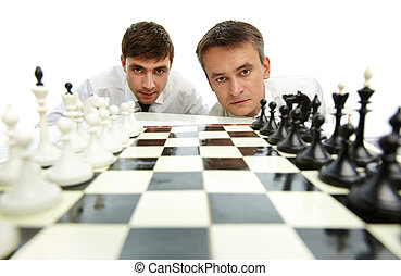 Two chess players
