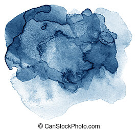 Abstract hand drawn watercolor background, for backgrounds...