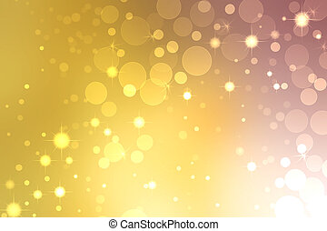 Abstract lights background - Abstract gold and purple lights...