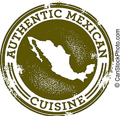 Authentic Mexican Food Stamp - A stamp for Mexican...