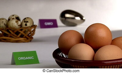 Organic & Genetically modified eggs - Organic and...