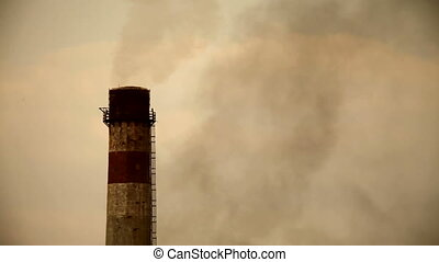 Smoke - Industrial air pollutin