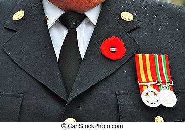Remembrance day - Fergus