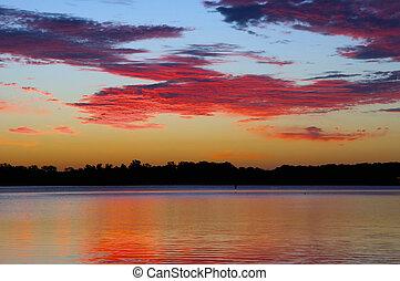 Arkansas River Sunrise