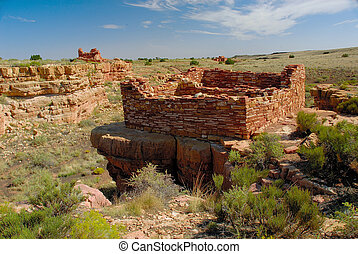 Lomaki Pueblo 4021 - The Puebloan people, also known as...