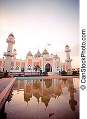 Mosque of Islam. pattani Province, Thailand.