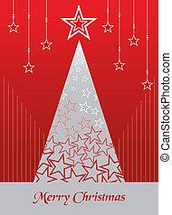 taxa postal, cartão, Natal, fundo