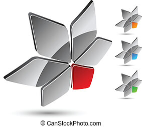 Company symbol - Abstract company symbol Vector illustration...