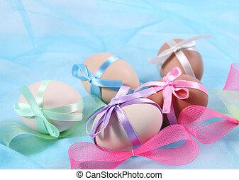 卵, イースター, 弓