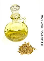 óleo, girassol, Sementes