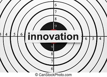 innovación, blanco
