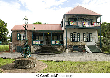 St. Eustatius Historical Foundation Museum Oranjestad Dutch...