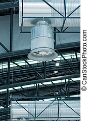 Ventilator for air conditioning in airports and other...