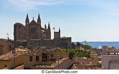 Mallorca Panoramic - Panoramic of Mallorca, with the...