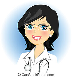 doctor  - Vector illustration of doctor