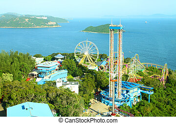 Amusement park rides in Hong Kong