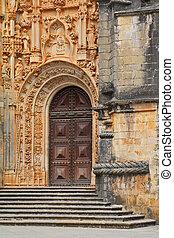 A fragment of the facade