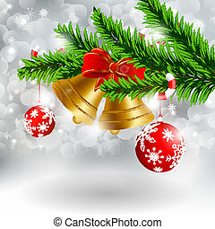 Christmas card - Vector christmas greeting card