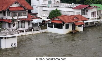 Flood in bangkok thailand 2011