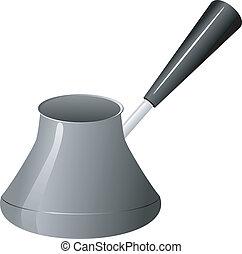 Coffee Pot. vector