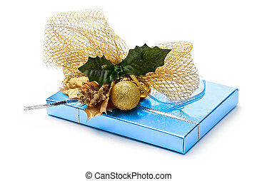 Gift box with decoration