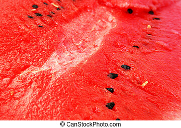 Watermelon - Red ripe watermelon as a background