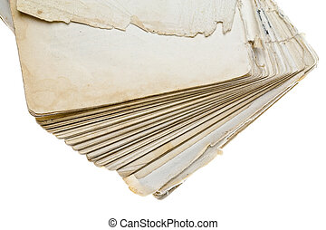 Fragment of the old  book
