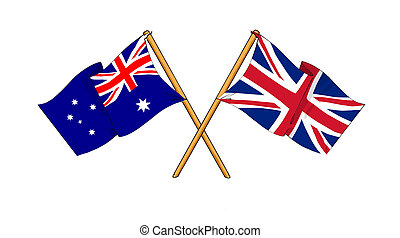 United Kingdom and Australia alliance and friendship -...