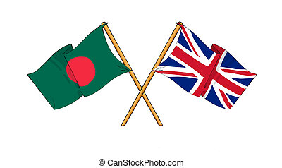 United Kingdom and Bangladesh - alliance and friendship -...